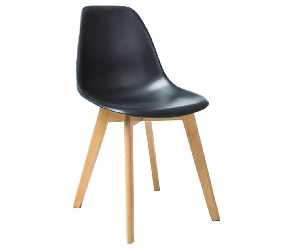 model scaun vivre negru